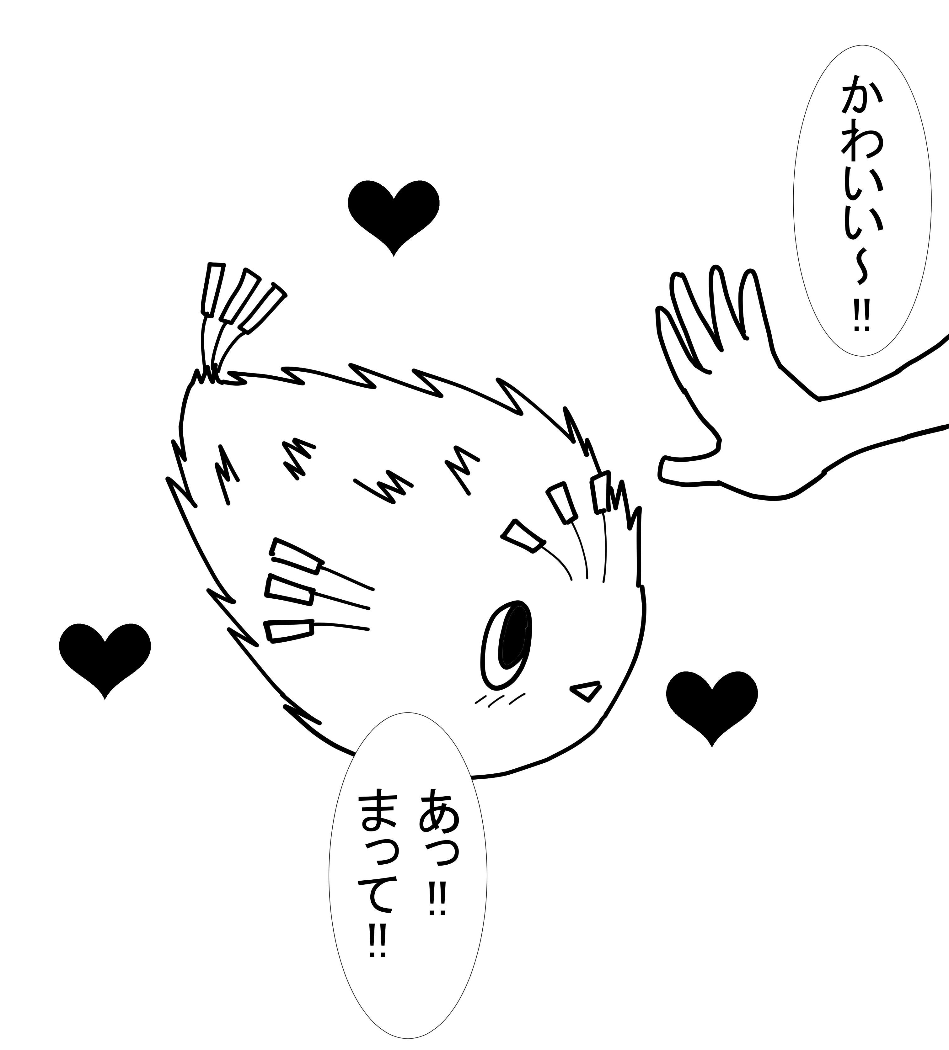 ハリセンボンのりぼんちゃん登場3