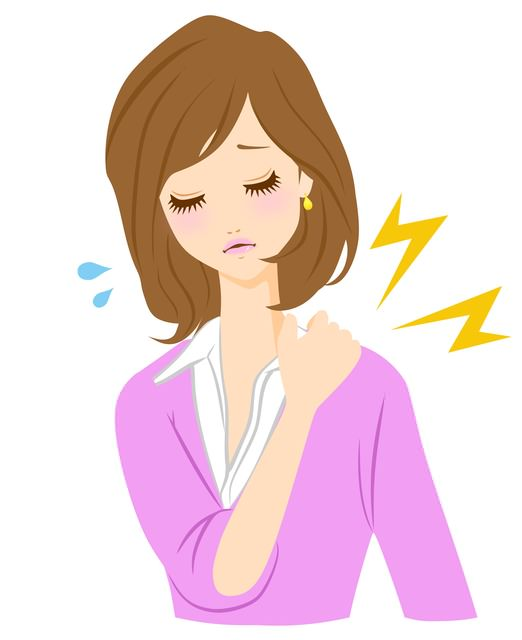 肩こりと風 急な肩こりには鍼灸を
